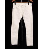 シンメ SINME パンツ デニム 27 白 ホワイト /sh0528