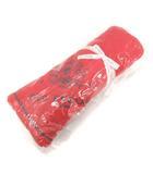 オールドイングランド OLD ENGLAND フリースブランケット ひざ掛け ロゴ 赤 レッド /PJ