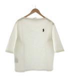 マルニ MARNI 46 S 2020年製 カットソー Tシャツ ボートネック 刺繍 五分袖 白 ホワイト /TK