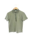 バーバリーブラックレーベル BURBERRY BLACK LABEL ポロシャツ 半袖 2 カーキ /MY