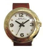 マークバイマークジェイコブス MARC by MARC JACOBS 腕時計 エイミー ミニ クオーツ ブラウン 茶 MBM8575 /YO27