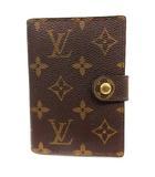 ルイヴィトン LOUIS VUITTON PDAカバー 手帳ケース モノグラム エティパーム M63028 茶 /YI14