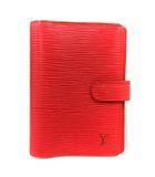 ルイヴィトン LOUIS VUITTON 手帳カバー 手帳ケース エピ アジェンダPM R2005E 赤 レッド /YI23