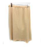 バレンシアガ BALENCIAGA バレンシアガ ラップスカート ひざ丈 40 ベージュ /KH