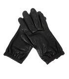 プラダ PRADA 手袋 グローブ レザー 6.5 黒 ブラック /YI13