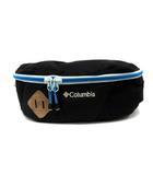 コロンビア Columbia バッグ ウエスト ボディ ロゴ 刺繍 黒 青 PU7044 /YI22