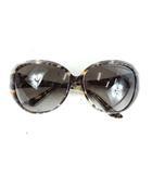 クリスチャンディオール Christian Dior サングラス PANTHER1 総柄 茶 黒 62□15-130 /DE10