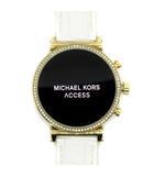マイケルコース MICHAEL KORS スマートウォッチ 腕時計 SOFIE ソフィー タッチスクリーン ビジュー MKT5067 白 ホワイト /☆K