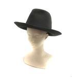 レナードプランク REINHARD PLANK 帽子 ハット 中折れ フェルト チャコールグレー /YO14