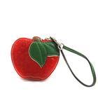 コーチ COACH コインケース 小銭入れ シグネチャー りんごモチーフ バイカラー レッド 赤 グリーン 緑色 /YO21