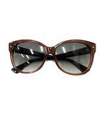 クリスチャンディオール Christian Dior サングラス 眼鏡 DiorJupon2F 58□15 140 茶 紺 /YI30