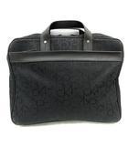 シーケーカルバンクライン ck Calvin Klein バッグ ビジネス ハンド キャンバス ブリーフケース ロゴ 黒 ブラック /SR