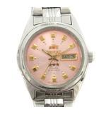 オリエント ORIENT 腕時計 自動巻き 3針 アナログ シルバー色 NQ1P /SR