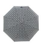トリーバーチ TORY BURCH 傘 折りたたみ ワンタッチ ロゴ 黒 ブラック 中国製 /YO16