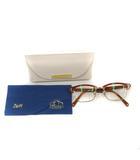 シアタープロダクツ THEATRE PRODUCTS Zoff 眼鏡 伊達メガネ ナイロールフレーム 51□18-146 茶色 ブラウン ZP31007B /YO7