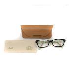 シアタープロダクツ THEATRE PRODUCTS Zoff メガネ 眼鏡 度入り べっ甲柄 ダークブラウン 52□16-140 ZP31008A /YO25