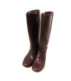 アグ オーストラリア UGG australia レインブーツ 長靴 サイドゴア 22.0cm ワインレッド 1003650 W /PJ