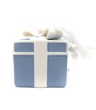ウェッジウッド WEDGWOOD ホリデイ オーナメント クリスマス ブルーボックス プレゼントボックス 青 白 /YI34