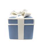ウェッジウッド WEDGWOOD ホリデイ オーナメント クリスマス ブルーボックス プレゼントボックス 青 白 /YI17