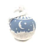 ウェッジウッド WEDGWOOD ホリデイ オーナメント クリスマスの夜空 青 白 /YI19