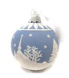 ウェッジウッド WEDGWOOD ホリデイ オーナメント クリスマスツリー トナカイ 青 白 /YI11