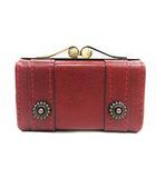 ダコタ Dakota ミニ財布 リードクラシック がま口コインケース レザー 赤 レッド 0030027 /PJ