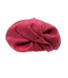 カシラ CA4LA 帽子 ベレー帽 ウール 紫 パープル /SR