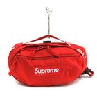 シュプリーム SUPREME 18SS Waist Bag ウエストバッグ ボディバッグ ハンドバッグ ボックスロゴ ナイロン 赤 レッド /YO9