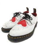 ドクターマーチン DR.MARTENS JOYCE HRT バレンタイン シューズ レースアップ レザー UK6 25cm 白 ホワイト /SR