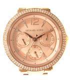 マイケルコース MICHAEL KORS 腕時計 クオーツ 3針 デイデイト クロノグラフ ピンクゴールド色 MK-6352 /SR ■OH