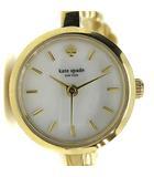 ケイトスペード KATE SPADE メトロ フラワー 腕時計 クォーツ パール ストーン ゴールド色 /YI4 ■OH