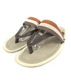 オロビアンコ OROBIANCO サンダル フラット トング ストラップ L 27cm ベージュ 茶色 ブラウン /SR