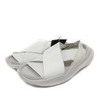 ナイキ NIKE プラクティスク PRAKTISK ストラップサンダル フラット ロゴ 24cm 白 ホワイト AO2722-100 /YI26