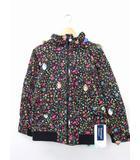 バートン BURTON タグ付 子供服 キッズ ジャケット アウター 中綿 スノーウェア ディズニー 花柄 L ブラック 黒 /KT20