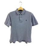 ポロ バイ ラルフローレン Polo by Ralph Lauren シャツ ポロシャツ ロゴ 無地 半袖 160 水色 ライトブルー