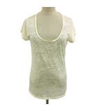 ジャーナルスタンダード JOURNAL STANDARD Tシャツ カットソー Uネック 半袖 白 ホワイト