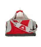 アディダス adidas ボストンバッグ 2way ナイロン スポーツ トラベル 赤 グレー