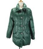 オットー OTTO コート ジャケット ダウン L 緑 グリーン