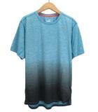 プーマ PUMA Tシャツ REBEL RUN SS ランニング グラデーション M 青