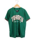 楽天イーグルス TOHOKU GREEN ユニフォーム メッシュ M 緑 グリーン