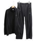 ミズノ MIZUNO セットアップ ジャージ ジャケット パンツ L 黒 ブラック