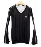 ヨネックス YONEX テニス シャツ Vブレーカー ピステ S 黒 ブラック 白 ホワイト