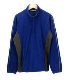 ミズノ MIZUNO グローバルエリート ストレッチフリースジャケット 12JE6K91 S 青 ブルー