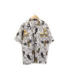 ニーキューイチニーキューゴーオム 291295=HOMME アロハシャツ 半袖 2 ベージュ