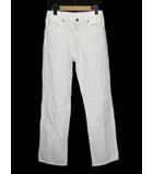 ラングラー WRANGLER ビンテージ パンツ ジーンズ デニム ストレート 31 白 ホワイト
