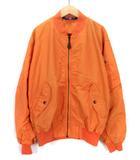 ポロスポーツ POLO SPORT ラルフローレン ジャケット ブルゾン MA1 フライト ボンバー L 国内正規 オレンジ
