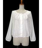プロポーション ボディドレッシング PROPORTION BODY DRESSING ブラウス カーディガン リボン 長袖 3 白 ホワイト