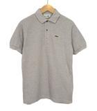 ラコステ LACOSTE ビンテージ ポロシャツ 半袖 40 国内正規 グレー