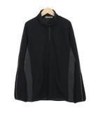 ミズノ MIZUNO グローバルエリート ストレッチフリースジャケット L 黒 ブラック
