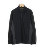 ミズノ MIZUNO グローバルエリート ストレッチフリースジャケット M 黒 ブラック